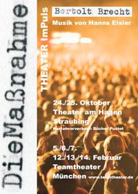 Massnahme Plakat