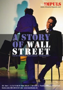 A Story Of Wall Street Plakat