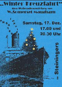 Winterkreuzfahrt Plakat